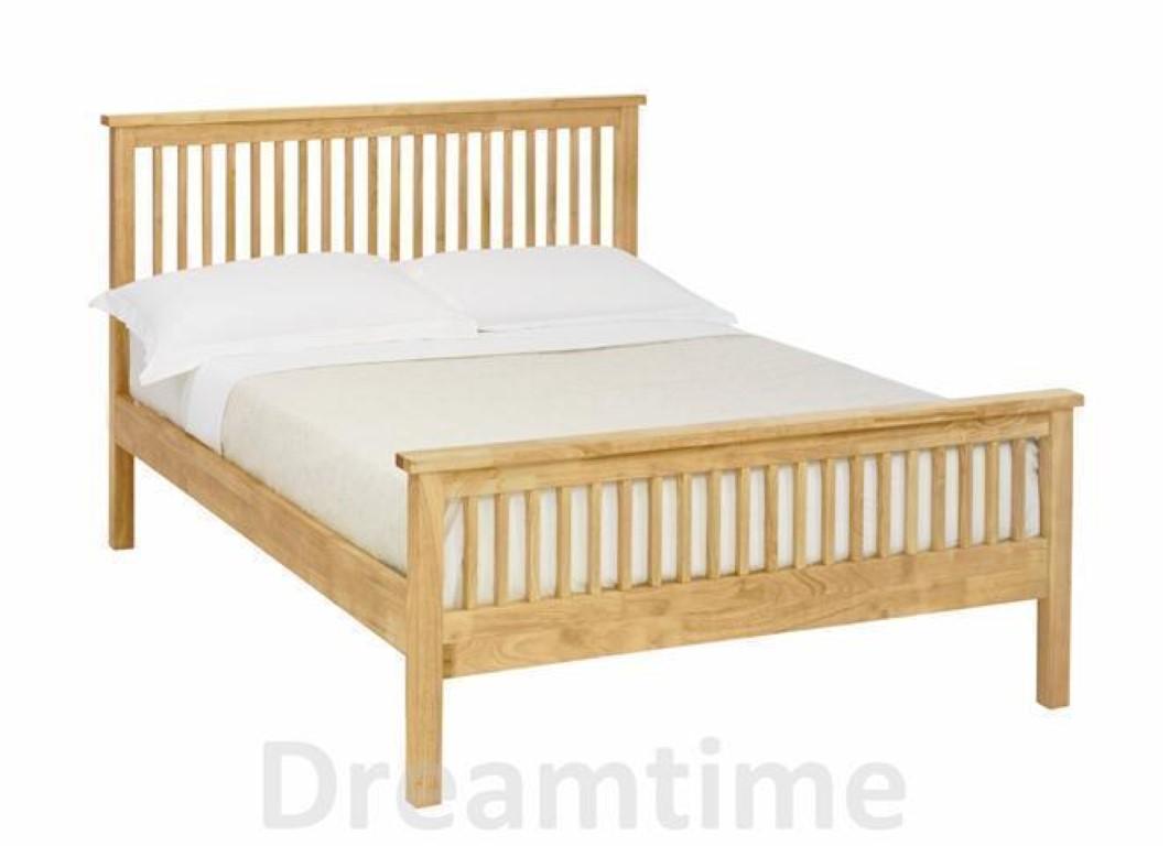 bentley designs atlanta light wood bedframe high foot end. Black Bedroom Furniture Sets. Home Design Ideas
