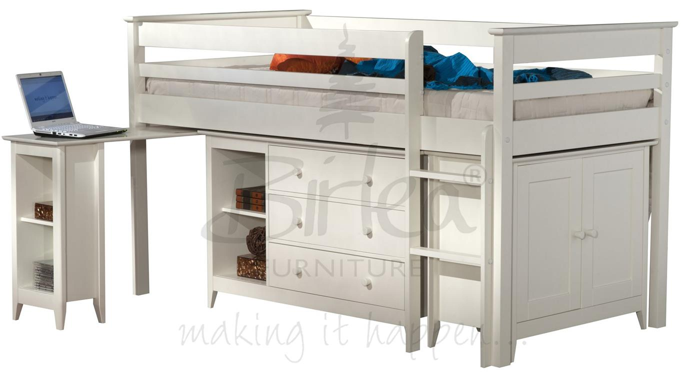 birlea cotswold midi sleeper. Black Bedroom Furniture Sets. Home Design Ideas