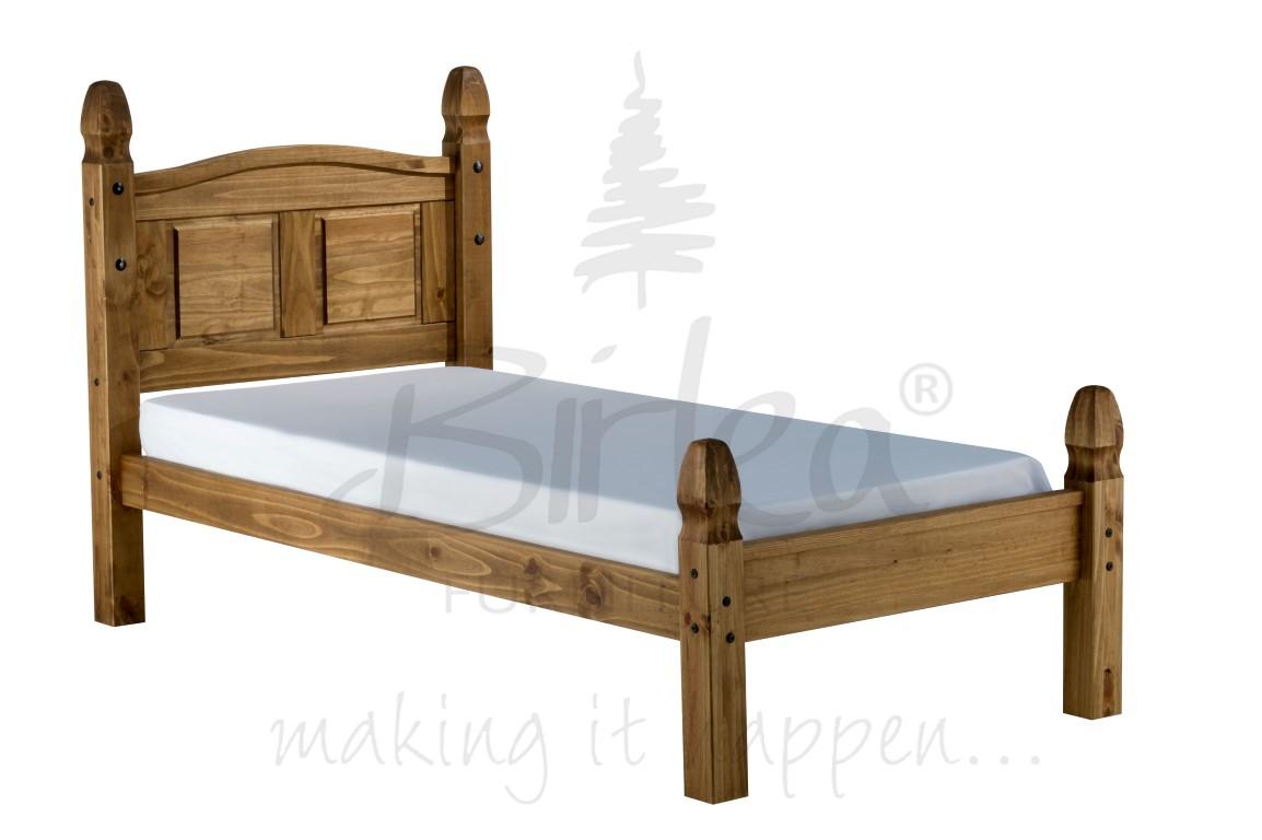 Birlea Corona Bed Frame Low Foot End