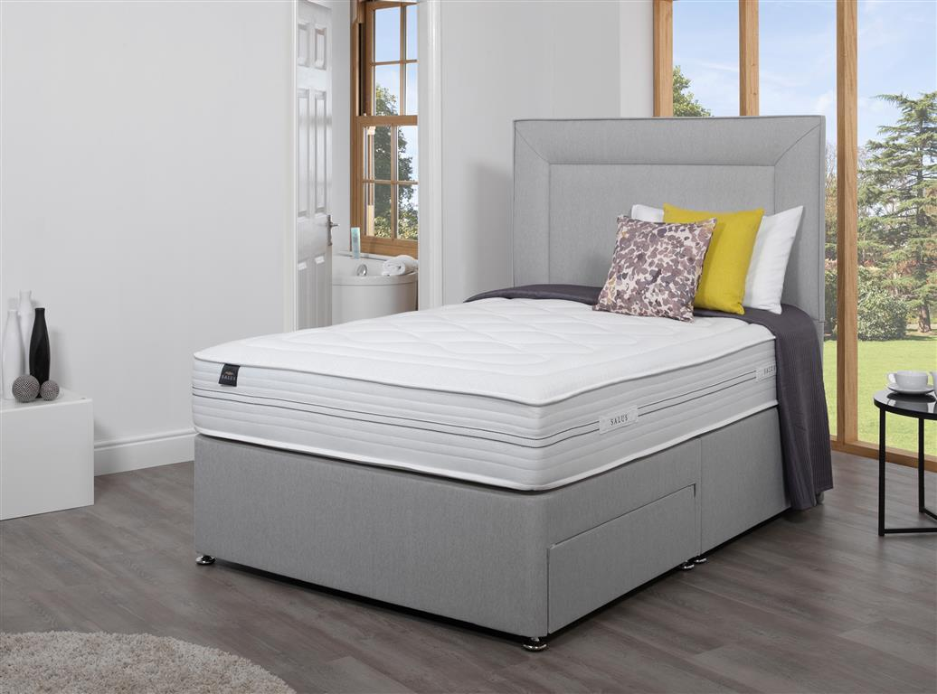 Salus king size divan beds 5ft for 5 foot divan beds