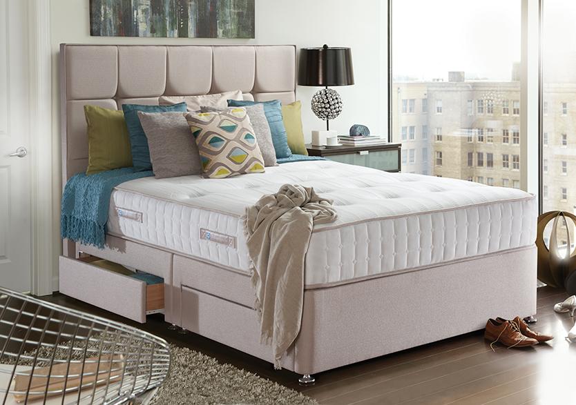 Sealy Pocket Palermo 1400 Divan Bed