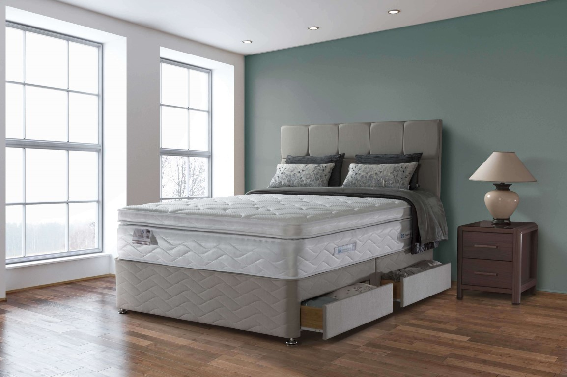 Sealy Pocket Palatine 2500 Divan Bed