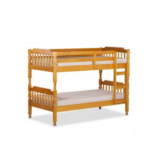 Colonial pine bunk bed