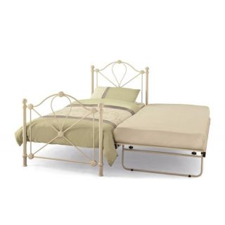 Serene Lyon ivory guest bed