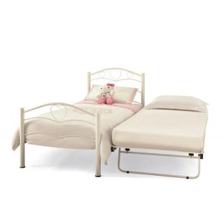 Serene Yasmin White guest bed