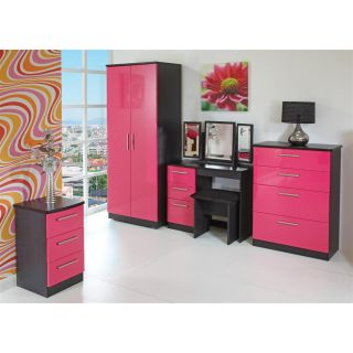 Welcome Furniture Knightsbridge Pink & Black