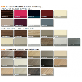 New Knightsbridge Furniture Colour Options