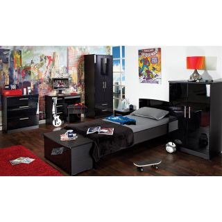 Welcome Furniture Knightsbridge Teen Black & Black