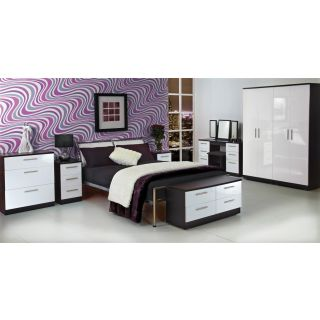 Welcome Furniture Knightsbridge White & Black