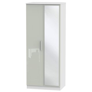 Welcome Furniture Knightsbridge 2ft6in Mirror Robe