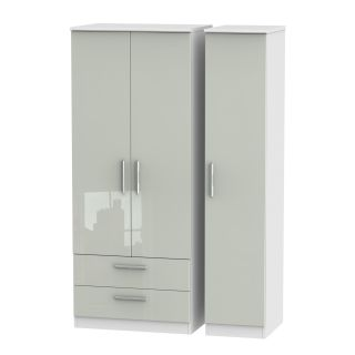 Welcome Furniture Knightsbridge Triple 2 Drawer Robe